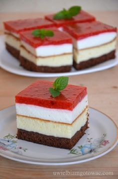 Polish Desserts, Polish Recipes, Russell Hobbs, Light Desserts, Russian Recipes, Cheesecakes, Pudding, Sweets, Cooking