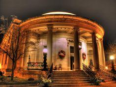 The Rotunda, Downtown Waukesha, Wisconsin.  AKA where I got married!
