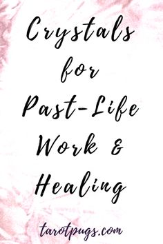 Here are a list of crystals for past-life work and healing to use in spells, meditation and for support. Regression Therapy, Past Life Regression, Spiritual Beliefs, Spiritual Awakening, Spirituality, Spiritual Growth, Healing Meditation, Daily Meditation, Dream Spell
