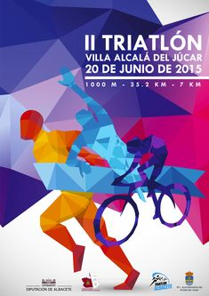 Poster for Triatlon Alcalá, Spain 2015
