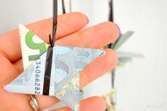 Kassette als Geldgeschenk Geldsterne eine Fummelarbei - ein DiY Geldgeschenk für Musikfans