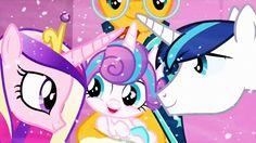 My Little Pony - Cadence, Flurry Heart & Shining Armor...and Sunburst (?)