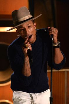 Pharell is prepping to rock at the Academy Awards