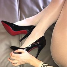 "77 Likes, 3 Comments - stockings+Heels❤ (@stockings_heels_nylons) on Instagram: ""#tightsfetish #tights #nylonfetish #nylons #strumpfhose #highheelshoes #highheels #louboutin…"" #hothighheelsstockings #stilettoheelsnylons"