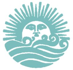 Sun and waves tattoo idea, maybe without the face on the sun