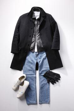 私服に合わせるなら 堀川博之 (副編集長) Jacket Style, Shirt Style, Madrid, Stylish Men, Men Casual, Preppy Look, Mens Fashion, Fashion Outfits, Holiday Outfits