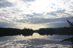 A beautiful scene in the Quetico Park of Canada. Boundary Waters, Campsite, Canoe, Paddle, Wilderness, Trail, Mountains, Sunset, Park