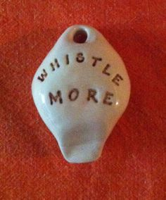 whistle more - porcelain ocarina