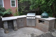 The Cow Spot: Outdoor Kitchen Part 2