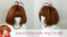 Cardcaptor Sakura is a timeless treasure and Sakura Kinomoto will forever be one of our fave magical girls. Here's a tutorial so you can also be wand wieldin. Cardcaptor Sakura, Magical Girl, Wands, Long Hair Styles, Wig, Beauty, Youtube, Beleza, Hair Toupee
