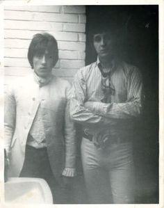 Roger Daltrey and John Entwistle