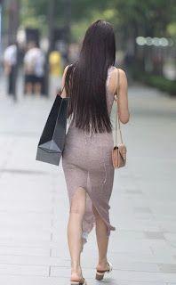Sexy Asian Girls, Up Skirt Pics, Summer Dress Outfits, Beautiful Long Hair, Tight Dresses, Sexy Legs, Asian Woman, Asian Beauty, Vestidos