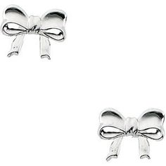 Youth Bow Earrings | Stuller.com