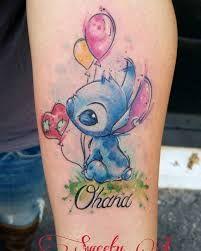Risultati immagini per ohana stitch tattoo