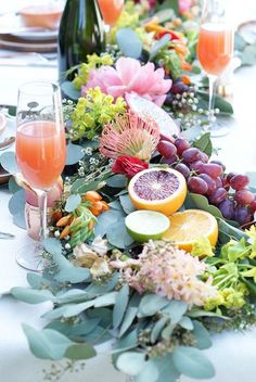 BECKI OWENS Tablescapes + Recipes for Mother's Day Brunch