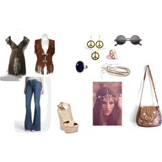 """""""Hippie"""" by sarahthesloth on Polyvore"""