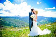 #Vail Mountain Wedding Deck - Vail Wedding #colorado #wedding Photo by Elevate Photography, Denver