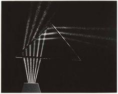 """Beams of Light Through Glass"" by Berenice Abbott (c. 1960)   © Berenice Abbott / Commerce Graphics Ltd. Inc."