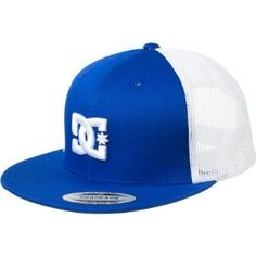DC RD Empire Flexfit Trucker Hat Royal, One Size:Amazon:Clothing