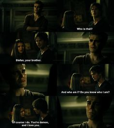 BURN !! STEFAN DUMPED FOR HIS BROTHER DAMON