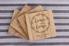 Wooden Baby Blocks, Real Estate Gifts, Custom Baby Gifts, Personalized Housewarming Gifts, Realtor Gifts, Candle Containers, Wedding Gifts For Couples, Candle Shop, Wood Gifts