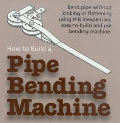 Tube and Pipe Bender