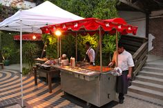 Who says mobile taco carts can't be classy? Prepping for a wedding after-party. Hire us for your wedding: