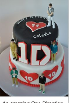 One direction cake. I must get one!