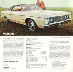 Canadian Meteora - http://tocmp.org/mercury/meteor/1970/07.jpg