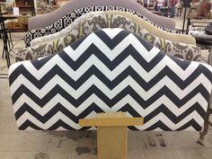 Great resource for custom, reasonable fabric headboards