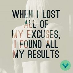 What excuses do you need to lose? #VitaminWorld