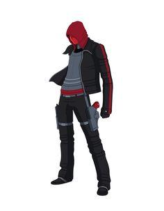 Red Hood - Redesign 2.0 by Jarein.deviantart.com on @deviantART