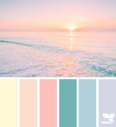 Heavenly hues palette design seeds, colour pallette и color Color Schemes Colour Palettes, Pastel Colour Palette, Colour Pallette, Pastel Colors, Colours, Color Combos, Design Seeds, Bar Deco, Colour Board