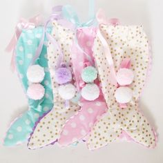 These charming Little Mermaid outfits are so sweet...polka dots,  #confettiblossomcollection