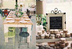 Ralph Lauren-Inspired Wedding. Apple butter, peach preserves, and strawberry jam wedding favors!