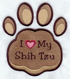 I heart my Shih Tzu, need this for the house
