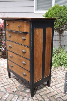 Hometalk :: Rustic Yet Sophisticated Dresser