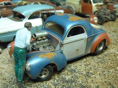 Willys Coupe Gasser « Model Cars