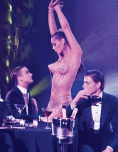 """Former drag queen Carmen Carrera & RJ King in """"Show Girl"""" Photographed by Steven Meisel and Styled by Edward Enninful for W Magazine September 2013 Carmen Carrera, Steven Meisel, Linda Evangelista, Le Crazy Horse, Rj King, Burlesque Show, Vintage Burlesque, The Libertines, W Magazine"""