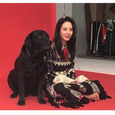 Song Ji Hyo via Weibo Ji Hyo Running Man, I Luv U, Mini Skirts, Punk, Actors, Songs, Korean, Style, Fashion