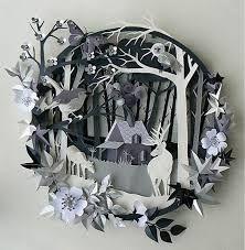Картинки по запросу 3d paper art