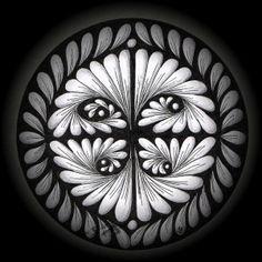 http://kunstkramkiste.wordpress.com/2012/04/24/kreise-kontraste-ornamente/  beautiful work