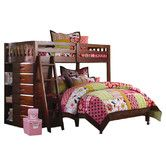 Found it at Wayfair - Weston Twin over Full L-Shaped Bunk Bed with Bookshelves and Storage