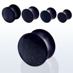 Amazon.com: Pair of Organic Stone Blue Sandstone Double Flare Plugs -4 gauge (5 mm): Jewelry