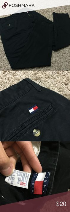 Regular fit tommy hilfiger chino pants 31x32 Great condition. No flaws. Regular fit pants. Size 31 waist and size 32 length. Regular fit so you can tailor it any way you like when you get it. Tommy Hilfiger Pants Chinos & Khakis