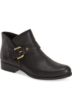 online shopping for Naturalizer 'Jarrett' Buckle Bootie (Women) from top store. See new offer for Naturalizer 'Jarrett' Buckle Bootie (Women) Botines Casual, Cute Boots, Fall Shoes, Short Boots, Leather Booties, Fashion Boots, Women's Fashion, Loafers Men, Chelsea Boots