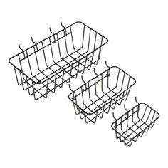 78 best top pinned products images bathroom ideas furniture house 6 X 6 Post Nothch for Deck Beams these peggable wire baskets are great for anizing on peg board or for around the