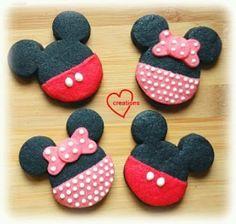 Mickey and Minnie shortbread cookies by Phay Shing (@phay_shing) #lovingcreations4u