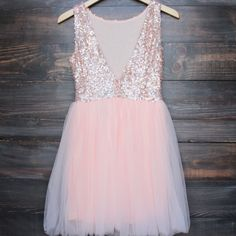 Beautiful dazzling rose sequins adorn this ballerina style tulle bottom peach base dress. A darling dress for any special occasion. Perfect for prom, homecoming, birthday party, and other special even Sweet 16 Dresses, Party Dresses For Women, Cute Dresses, Beautiful Dresses, Flower Girl Dresses, Short Sleeve Dresses, Formal Dresses, Girls Dresses, Homecoming Dresses