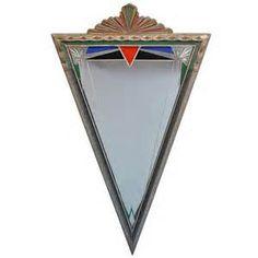 1920 art deco mirror